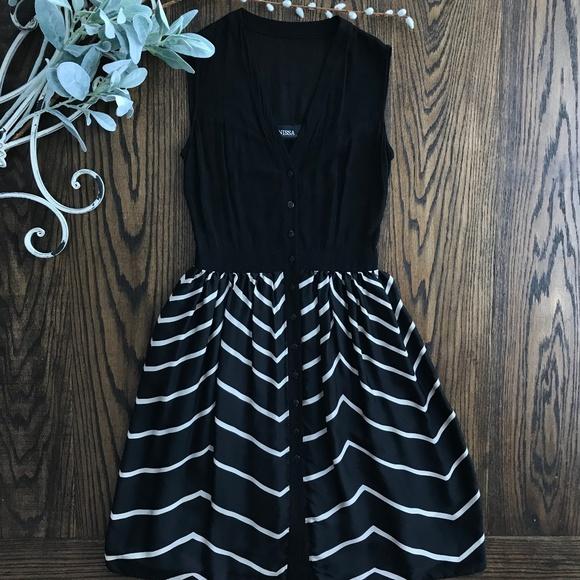 Nissa Dresses & Skirts - Nissa Black and White Dress
